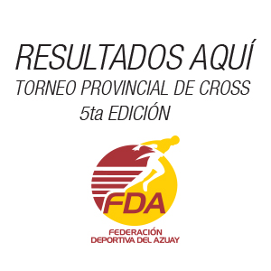 RESULTADOS CROSS COUNTRY