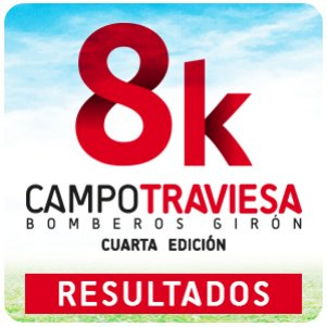 RESULTADOS 8K CAMPO TRAVIESA BOMBEROS GIRON
