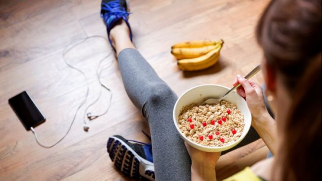 Consejos de alimentación para deportistas